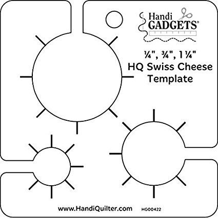 Handi Quilter Swiss Cheese Ruler