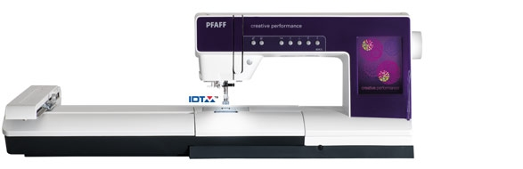 Pfaff Creative Performance with Large Embroidery Unit