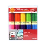 Gutermann Thread pack - Strong /10 shades