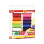 Gutermann Thread Pack - 10 Shades with tape measure