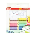 Gutermann Thread Pack - 8 shades with seam guide
