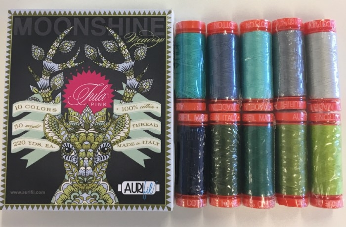 Aurifil Thread Pack Designer Collection- Moonshine Meadow by Tula