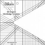 Handi Quilter Wedge 60 Degree Template
