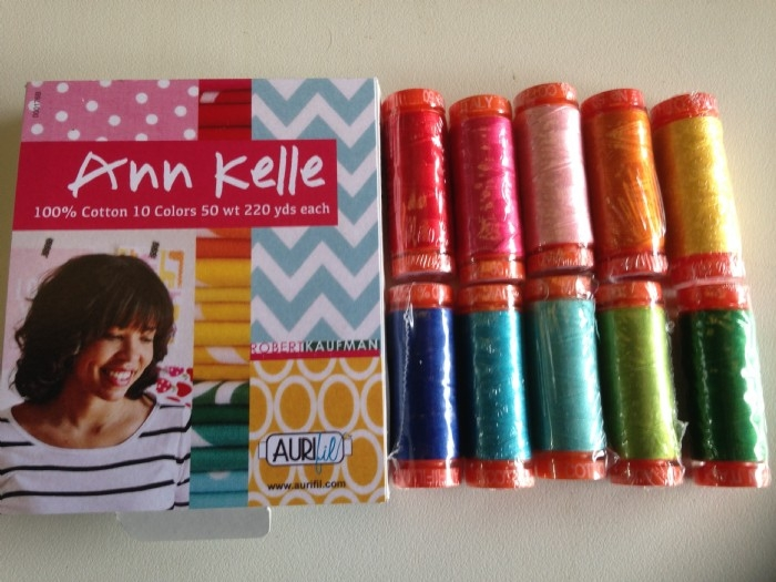 Aurifil Thread Pack Designer Collection- by Anne Kelle