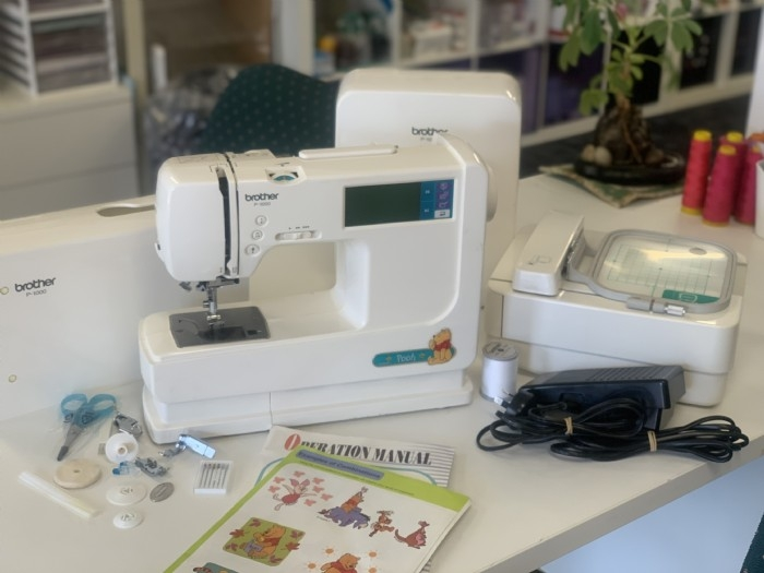 Brother P-1000 Embroidery and Sewing Machine- Pre owned