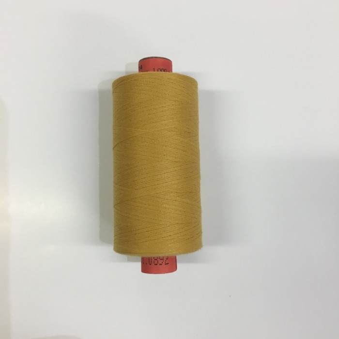 Rasant Polyester/Cotton Thread 1000m - Mustard