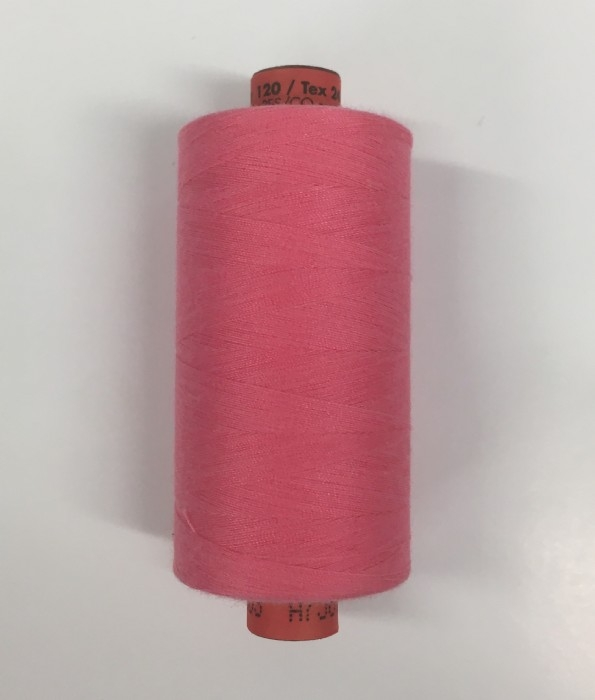 Rasant Polyester/Cotton Thread 1000m - Coral