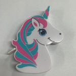 Unicorn Tape Measure -Pink/Aqua