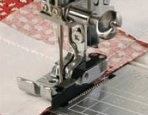 Janome 1/4 Piecing Foot with Guide