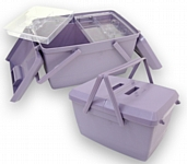Large Sewing Box - Plastic