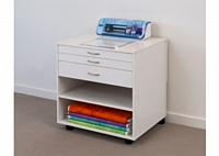 Horn Modular 3 Drawer Unit with Adjustable Shelf