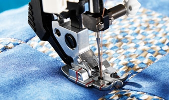 Pfaff Stitch-In-The-Ditch Foot with IDT