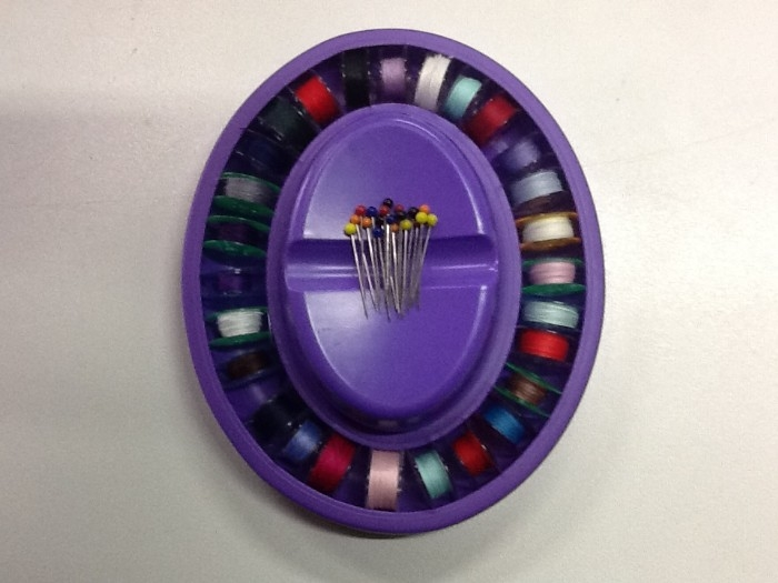 Magnetic Pin Catcher with Bobbin Ring