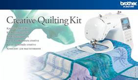 Brother Creative Quilting Kit For NS 10/20/30/50