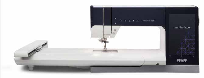 Pfaff Creative Icon Sewing and Embroidery Machine