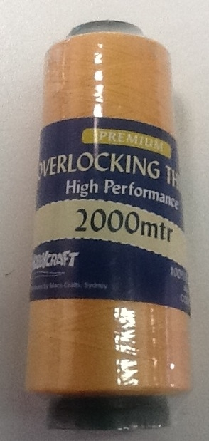 Overlocker Thread 2000 Metre Gold