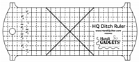 Handi Quilter Ditch Ruler