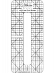 Handi Quilter  Line Grid Ruler 6 x 1/2