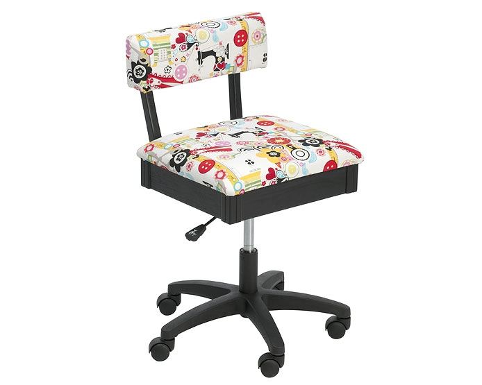 Horn Sewing Chair NEW Style Coloured Fabric