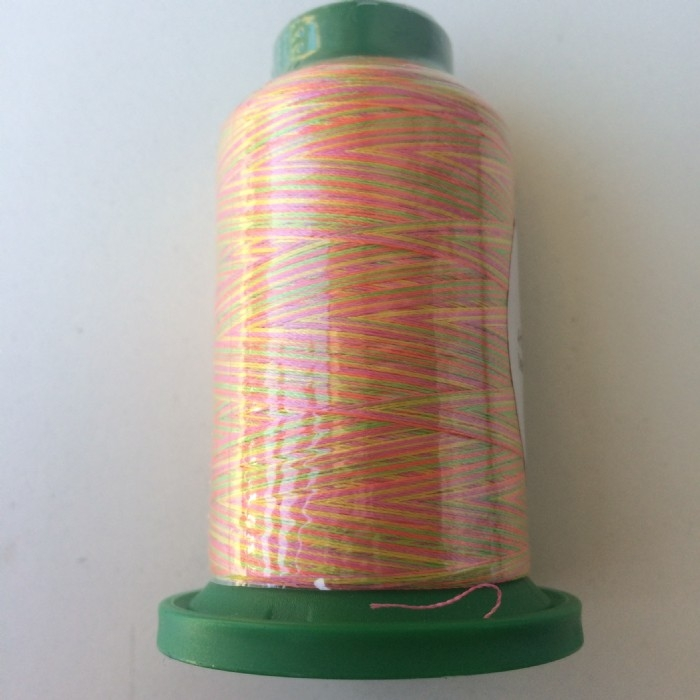 Isacord Multicoloured Embroidery Thread- Neon Nights