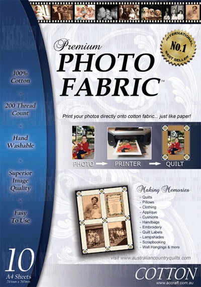 Premium Printable Fabric Sheets 10 Pack