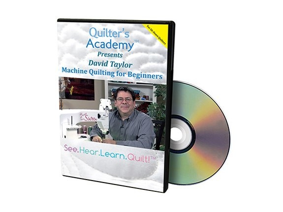 Quilter's Academy Quilting for Beginners with David Taylor