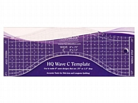 Handi Quilter Wave C Template Ruler 8''