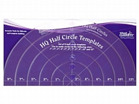 Handi Quilter Half Circle Template