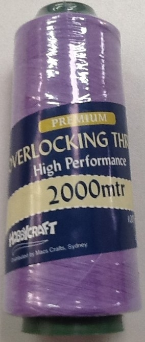 Overlocker Thread 2000 Metres Lilac