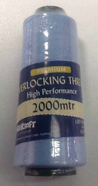 Overlocker Thread 2000 Metres Sky Blue