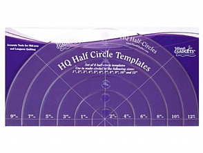 handi quilter half circle template handi quilter rulers quilting