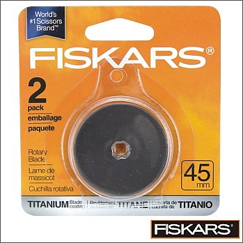 Fiskars Rotary Blade 45mm pack of 2