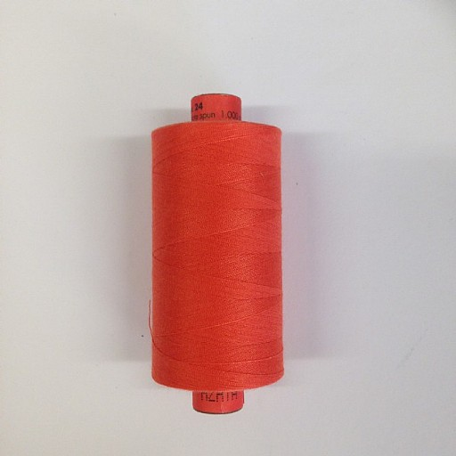 Rasant Polyester/Cotton Thread 1000m - Orange