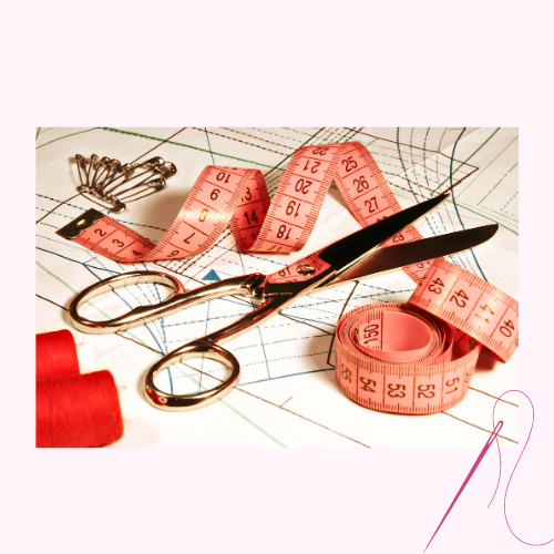 Haberdashery (Sewing items, thread, pins, chalk)